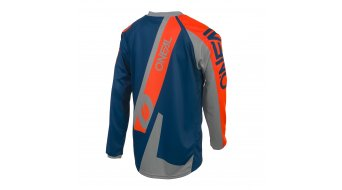 ONeal Element FR Hybrid MTB-Trikot Herren langarm Gr. S blue/orange