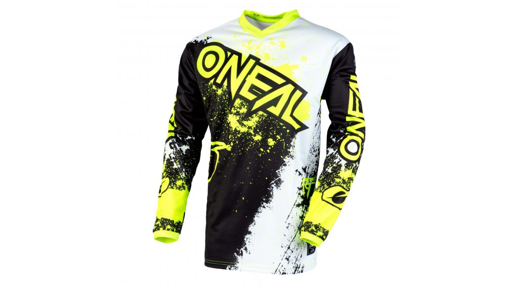 ONeal Element Impact MTB-Trikot Herren langarm Gr. S black/neon yellow