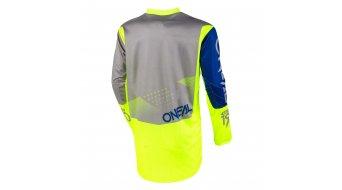 ONeal Element Factor Trikot langarm Kinder Gr. S gray/blue/neon yellow