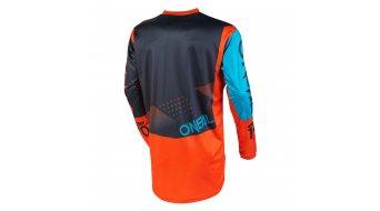ONeal Element Factor Trikot langarm Kinder Gr. S gray/orange/blue