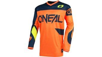 ONeal Element Racewear Trikot langarm Herren Gr. L orange/blue