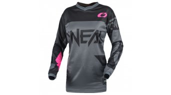 ONeal Element Racewear Trikot langarm Damen gray/pink