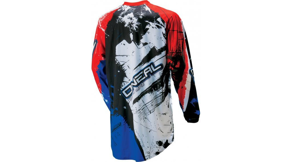 2963bbef1 ONeal Element Shocker jersey long sleeve size L black red blue 2018