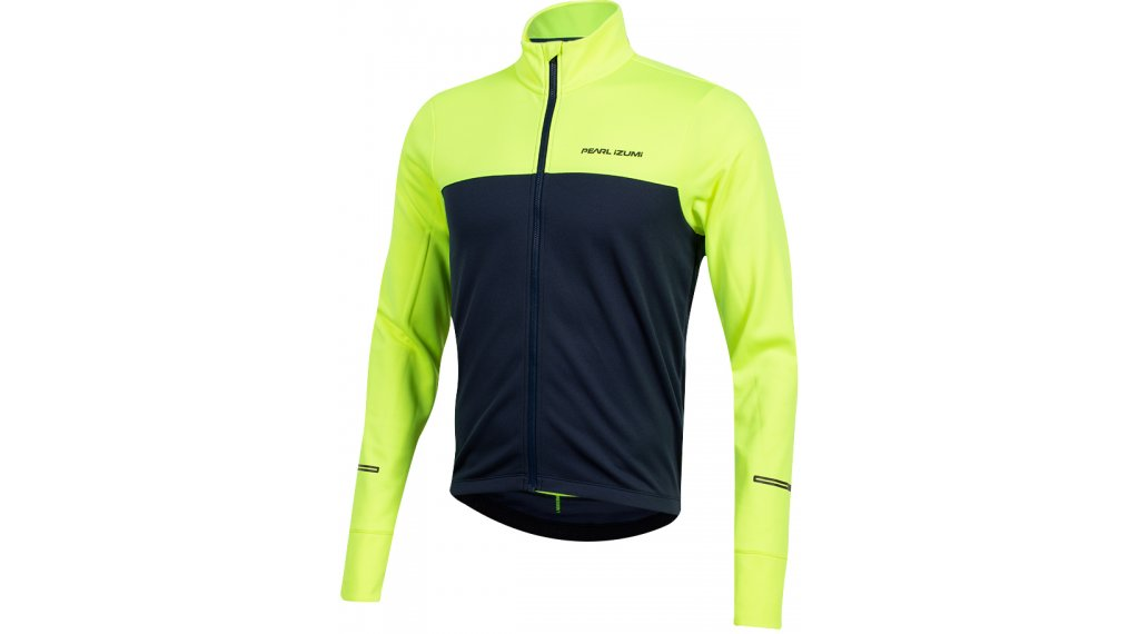 Pearl Izumi Quest Thermal Jersey largo(-a) Caballeros tamaño S screaming amarillo/navy