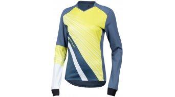Pearl Izumi Launch Thermal MTB-tricot lange mouw dames maat XL blue steel/zest fracture