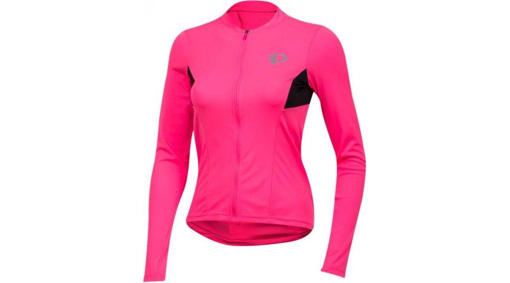 Pearl Izumi Select Pursuit Rennrad-Trikot langarm Damen Gr. S screaming pink/black