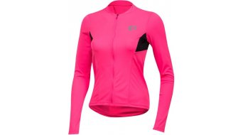 Pearl Izumi Select Pursuit Rennrad-Trikot langarm Damen screaming pink/black