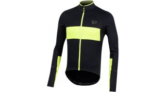Pearl Izumi Elite Escape Thermal tricot lange mouw heren black/screaming yellow 2
