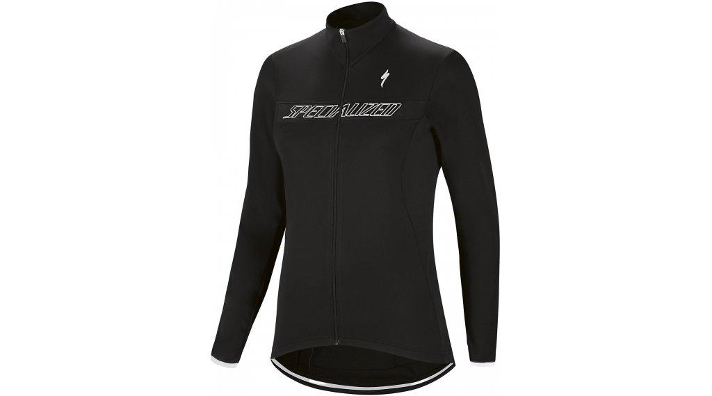 Specialized Therminal RBX Sport Logo 领骑服 长袖 女士 型号 XS black/white