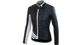 Specialized Element Pro Racing maillot manga larga Caballeros-maillot negro/anthracite/blanco
