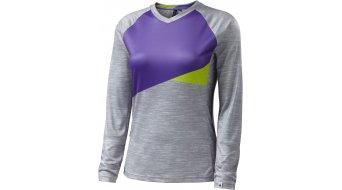 Specialized Andorra Comp maillot manga larga Señoras-maillot MTB tamaño L light grey/powder indigo
