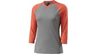 Specialized Andorra maillot 3/4 brazos Señoras-maillot MTB DriRelease Merino tamaño XL light grey/coral heather