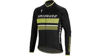 Specialized Element RBX Comp maillot manches longues taille M black/neon yellow