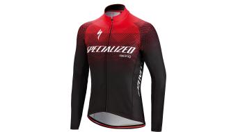 Specialized Element SL Team Expert maillot manga larga negro/rojo