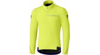 Shimano Thermal winter wheel jersey long sleeve men neon yellow