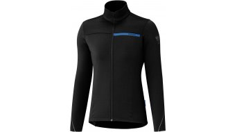 Shimano Thermal Winter Radtrikot langarm Damen black