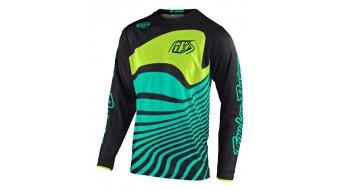 Troy Lee Designs GP Air MX-Trikot langarm Kinder Gr. LG (L) drift black/turquoise