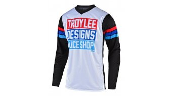 Troy Lee Designs GP 领骑服 儿童 长袖 型号 MD (M) carlsbad white/black