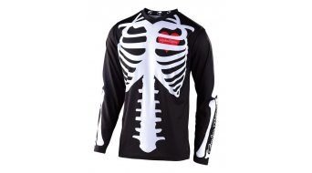 Troy Lee Designs GP MX-Trikot langarm Kinder Gr. XS skully black/white