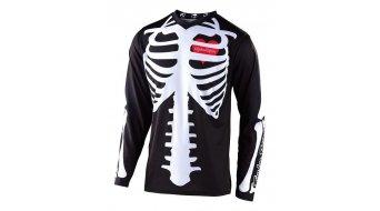 Troy Lee Designs GP MX- jersey long sleeve kids size SM (S) skully black/white