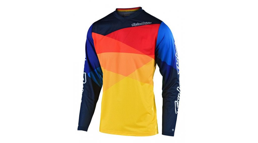 Troy Lee Designs GP Trikot Kinder langarm Gr. MD (M) jet yellow/orange