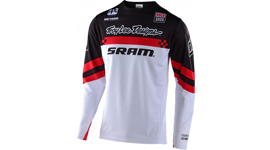 Troy Lee Designs Sprint MTB-Trikot langarm Kinder Gr. MD (M) factory sram black/red