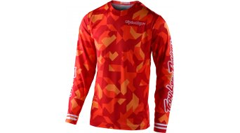 Troy Lee Designs GP Air Confetti Trikot langarm Herren orange