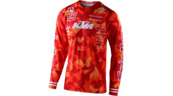 Troy Lee Designs GP Air Con grease i jersey long sleeve men orange