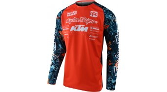 Troy Lee Designs SE Pro Cosmic Jungle Trikot langarm Herren orange/navy