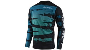 Troy Lee Designs Sprint Brushed maillot manga larga niños marine/teal