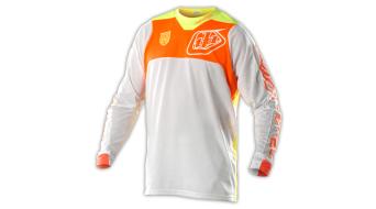 Troy Lee Designs SE Pro Corse maglietta manica lunga uomini- maglietta Mx- maglietta . white/arancione mod. 2015