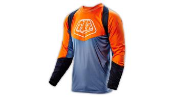 Troy Lee Designs Adventure Radius Trikot langarm Herren-Trikot MX-Trikot orange/gray Mod. 2017