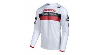 Troy Lee Designs Sprint Air Trikot langarm Herren Gr. XL SRAM TLD racing white Mod. 2017
