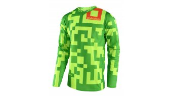 Troy Lee Designs GP Maze jersey long sleeve men size M (MD) flo yellow/green
