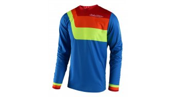 Troy Lee Designs GP Prisma jersey long sleeve men blue