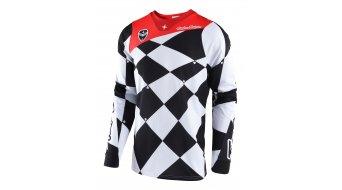 Troy Lee Designs SE Joker Trikot langarm Herren Gr. L (LG) white/black