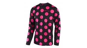 Troy Lee Designs Youth GP Polka Dot Trikot langarm Kinder Gr. XL (XL) black/flo pink