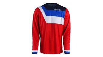 Troy Lee Designs Youth GP Prisma maillot manga larga niños tamaño L (LG) rojo