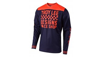 Troy Lee Designs GP Raceshop tricot lange mouw heren maat XL (XL) navy