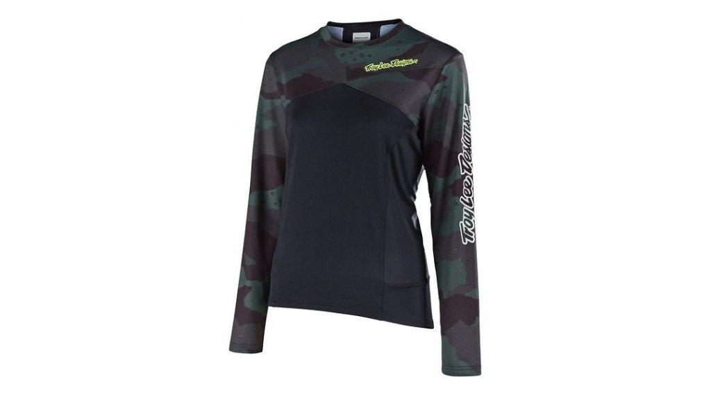 Troy Lee Designs Skyline MTB(山地)-领骑服 长袖 女士 型号 SM (S) camo green/black