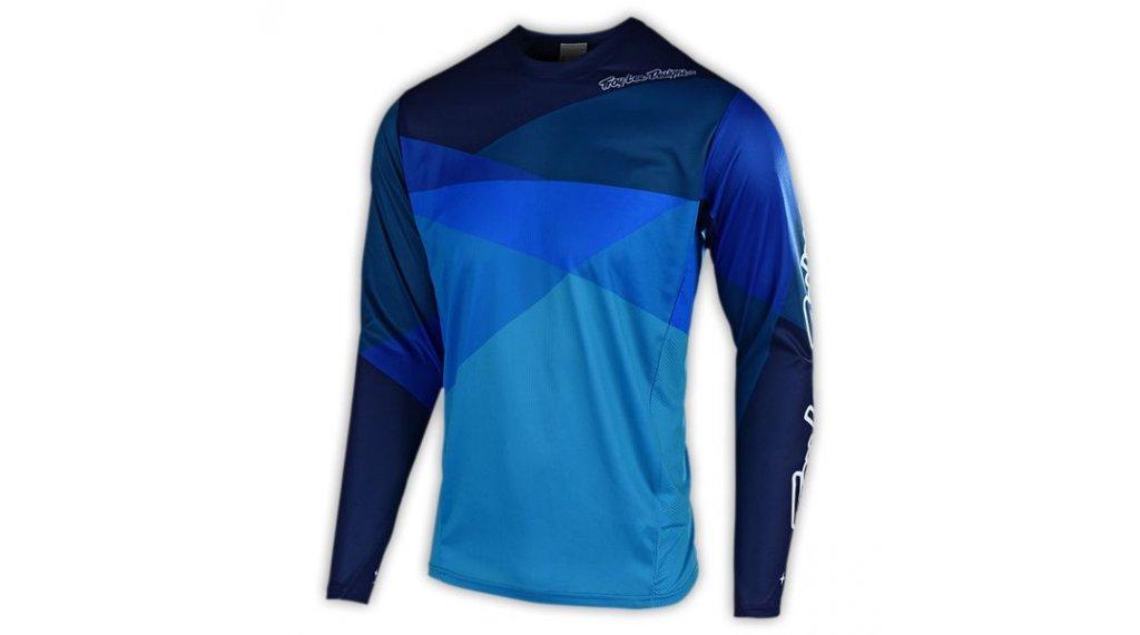 Troy Lee Designs Sprint MTB-Trikot langarm Kinder Gr. MD (M) jet blue