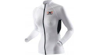 X-Bionic The Trick Rad-Trikot langarm Damen Gr. XS white/black