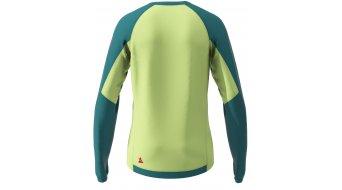 Zimtstern PureFlowz maglietta da uomo manica lunga mis. S pacific verde/sharp verde/cyber rosso