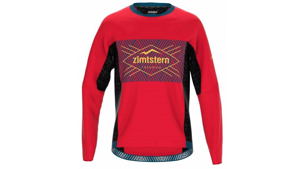 Zimtstern TechZonez 领骑服 长袖 男士 型号 S cyber red/french navy/mimosa