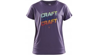 Craft Eaze logo Mesh T-shirt short sleeve ladies size M logan/multi- MUSTERcollection