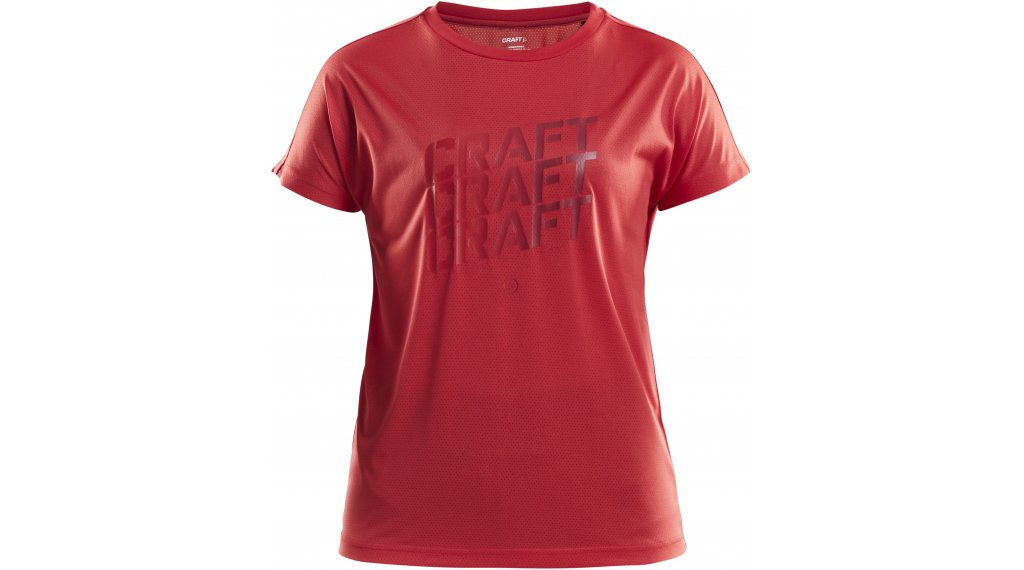 Craft Eaze logo Mesh T-shirt short sleeve ladies size M beam/r stroke arb- MUSTERcollection