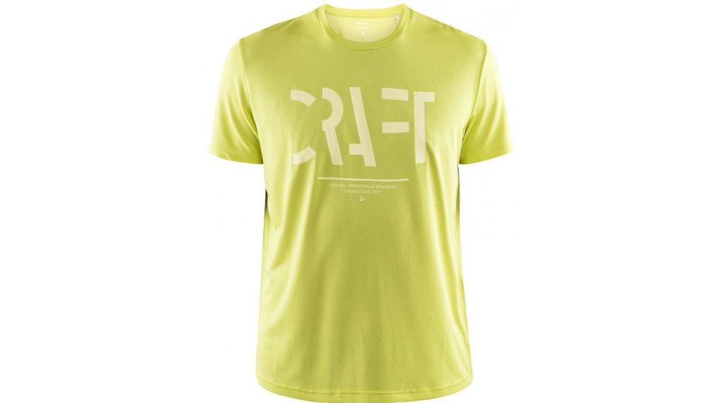 Craft Eaze Craft Mesh T-Shirt 短袖 男士 型号 XS 青柠色