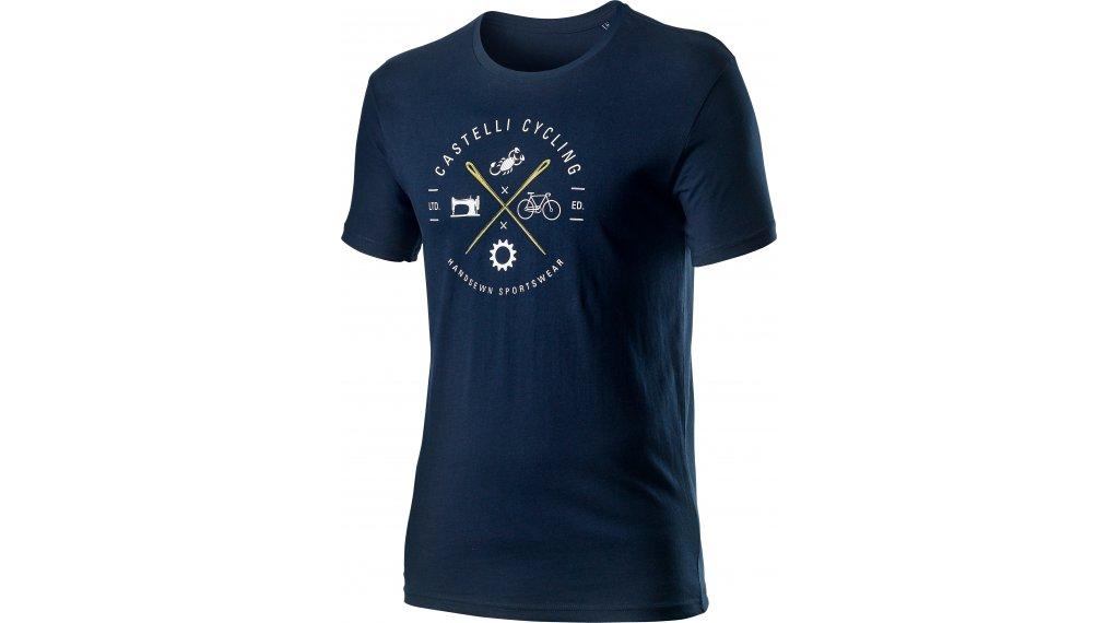 Castelli Sarto t-shirt manches courtes hommes Gr. M dark infinity bleu