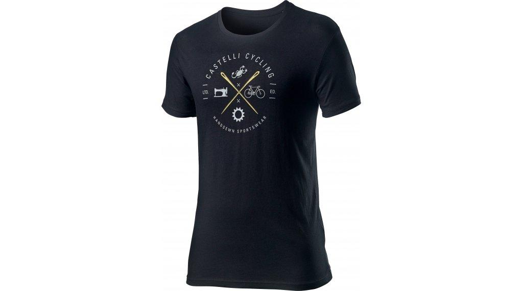 Castelli Sarto t-shirt manches courtes hommes Gr. M noir