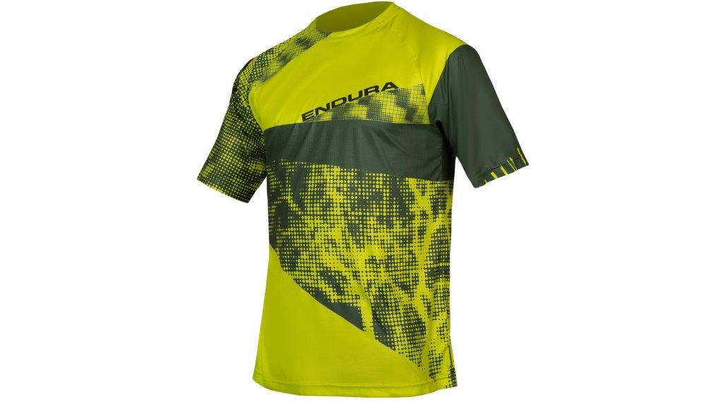 Endura SingleTrack Dots LTD T-Shirt 短袖 男士 型号 S 青柠色 green